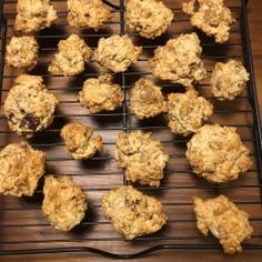 誰でも作れる簡単グラノーラクッキー