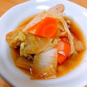 簡単5分で完成♡鶏と野菜の優しい煮物♡