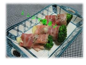 レンジで簡単☆ブロッコリーチーズベーコン
