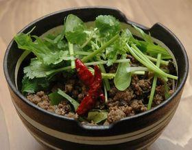 アジアンちっくな肉かけゴハン