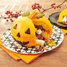 ハロウィンスイーツ☆かくれんぼケーキ