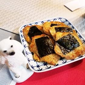 豆腐入レンコン餅磯辺焼き