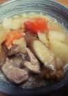 もつ煮込み風★豚肉と根菜の味噌煮
