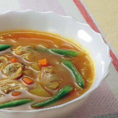 玉葱たっぷりカレースープ