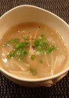 ボタンエビの頭のスープ