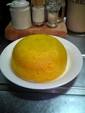 かぼちゃとおからの満月ケーキ