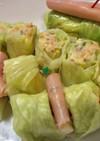 ロールキャベツ風ポテトサラダ