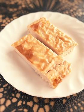 簡単!プロテインチーズケーキ!◆糖質制限