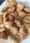 魚焼きグリルで揚げない鶏胸肉の唐揚げ