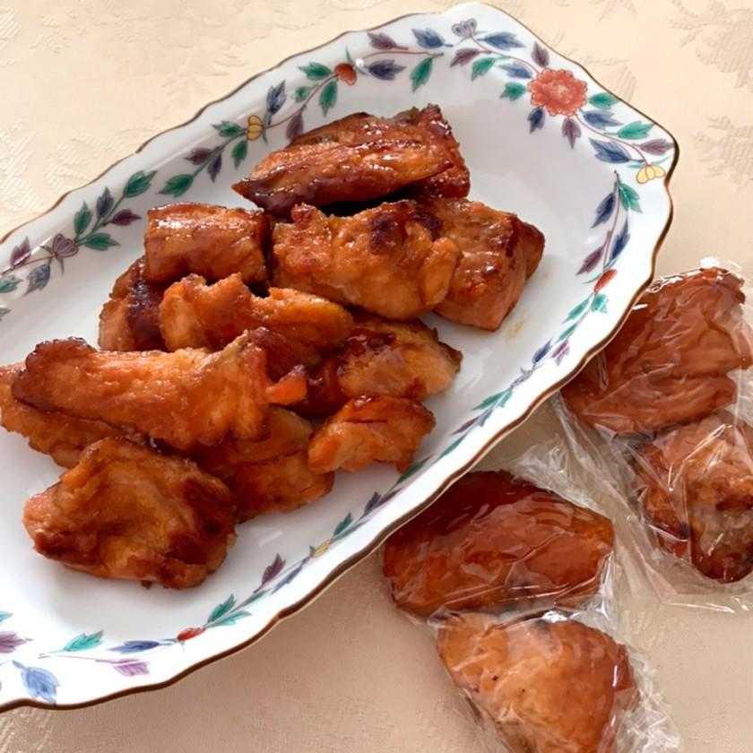 簡単☆お弁当のおかず☆鮭の照り焼き