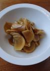 生姜の醤油漬けの作りかた