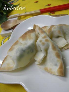 餃子の皮で簡単おつまみ(チーズ)