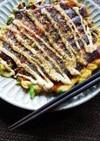 休日ランチに!大阪家庭の山芋入り白ネギ焼