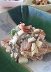 割り干し大根のネバネバ美味しい和風サラダ