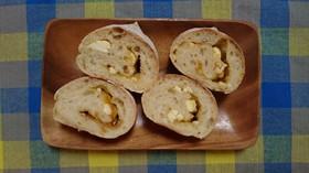 クリームチーズ&マーマレードパン