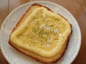 簡単マヨ玉トースト