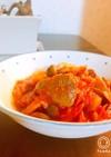 牛タン(orラム肉)のトマト煮込み