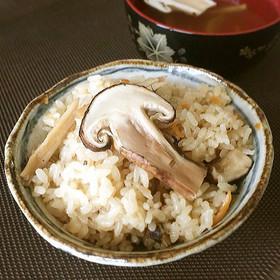 「松茸ご飯♪(醤油味)」