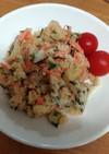 オイスターマヨネーズのポテトサラダ