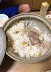 子供喜ぶ栗ごはん 土鍋で。