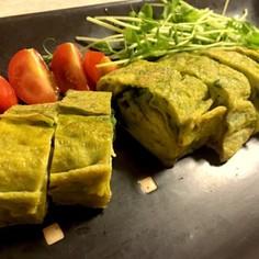 海苔とチーズが美味い★海苔と佃煮の卵巻き
