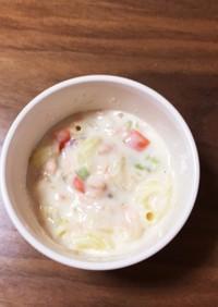 離乳食 後期 簡単 鮭クリームシチュー
