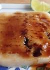 米粉と山の芋の蒲焼き風(焼いてないけど)