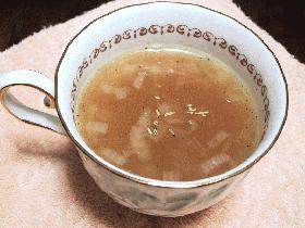 週末限定☆にんにくのスープ