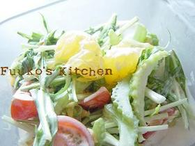 シャキシャキ野菜のサラダ