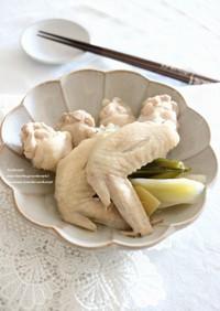 鶏手羽の塩煮