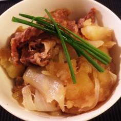 大好きな肉じゃが 土井善晴さんのレシピ