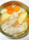 塩鶏とキャベツ煮込み♪簡単