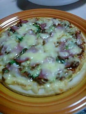 焼肉!風味の納豆ピザ
