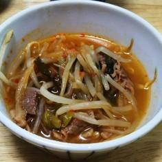 韓国風スタミナスープ