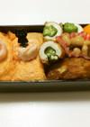 ㉒暑くても食欲が進む、卵寿司弁当♡