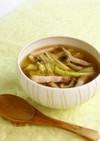 白菜とベーコンのスープ(権太呂だし使用)