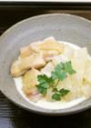 大根と鶏肉のクリーム煮(権太呂だし使用)
