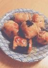 簡単☆お弁当おかず➀豚&豆腐の磯辺焼き
