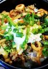 青椒肉絲リメイク☆韓国風丼