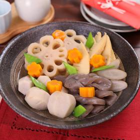 お鍋一つで簡単に♪根菜の彩り煮しめ