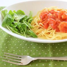 いしるのトマトパスタ