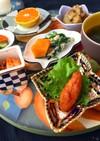 ニラ玉と和惣菜ヘルシー朝食 糖質制限