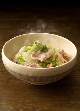 うどんスープで♪白菜と豚バラのかんたん煮