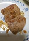 豚ヒレ肉のバルサミコしょうゆソテー