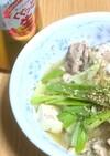サバ水煮缶と豆腐&キャベツの簡単鍋