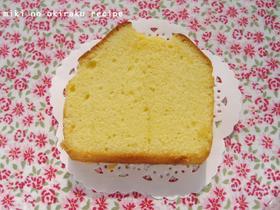 バニラ香るプレーンなパウンドケーキ