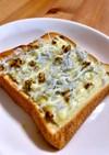 【おかずパン】しらすチーズonトースト