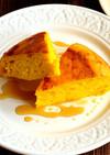 炊飯器で!かぼちゃのパンケーキ