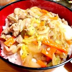 簡単中華丼
