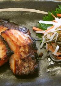 鮭の塩こうじ焼き(腎臓病食)